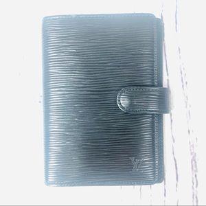 Louis Vuitton Epi Leather Agenda PM Cover Black